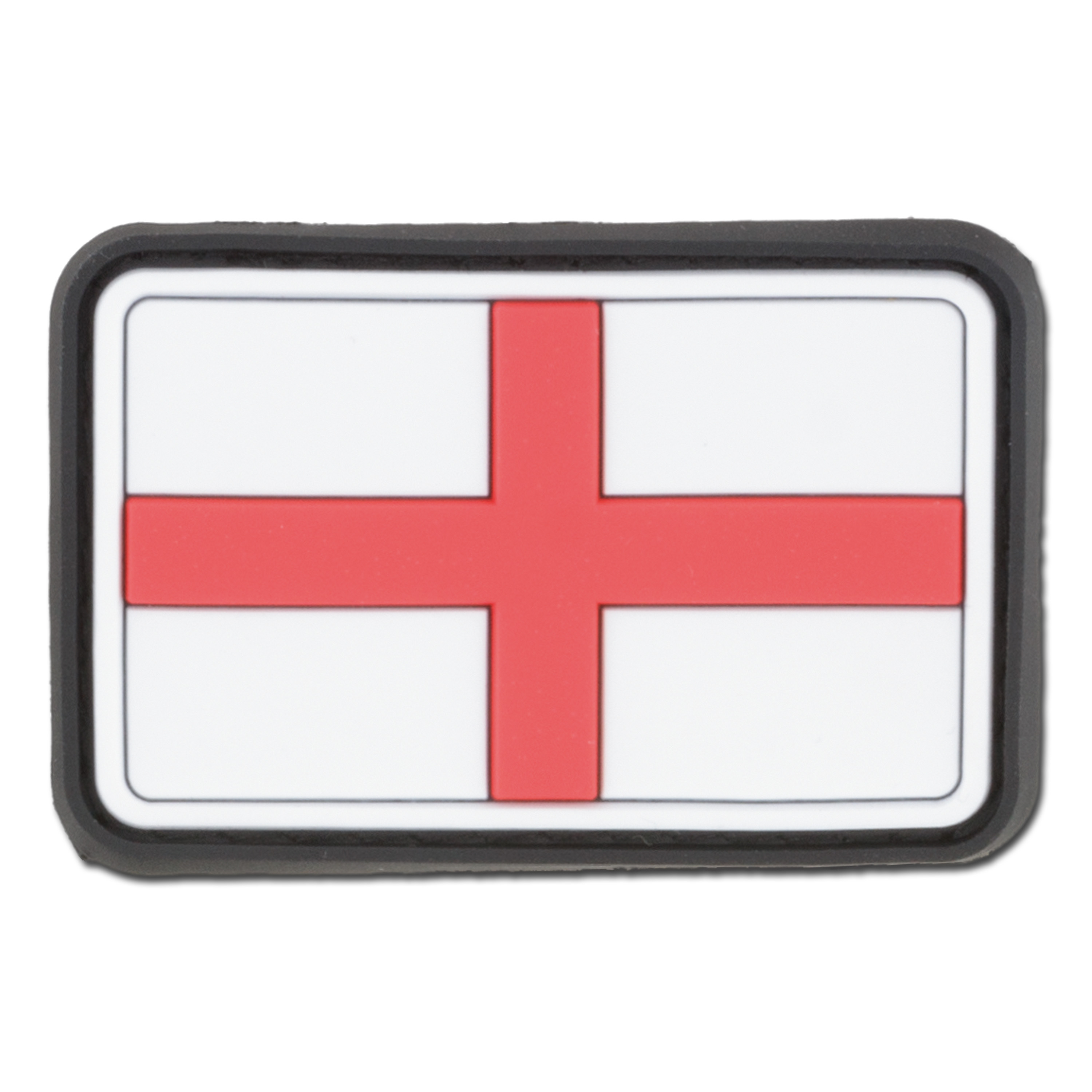 3D-Patch St. George's Cross England Small full color