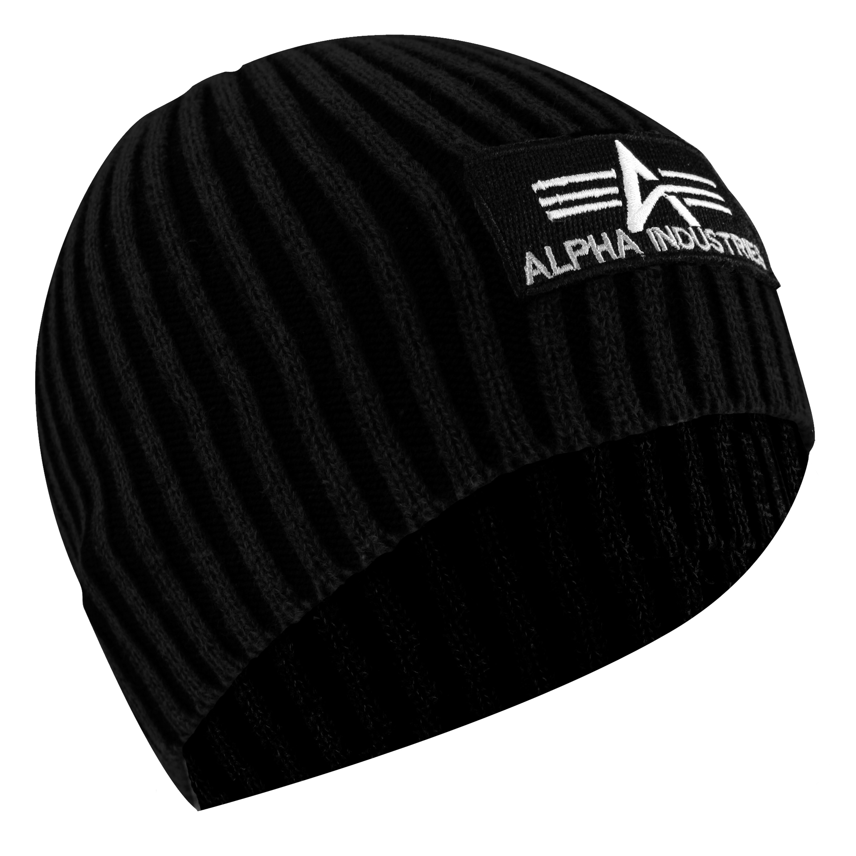 Beanie Cap Heavy Rib Alpha Industries black
