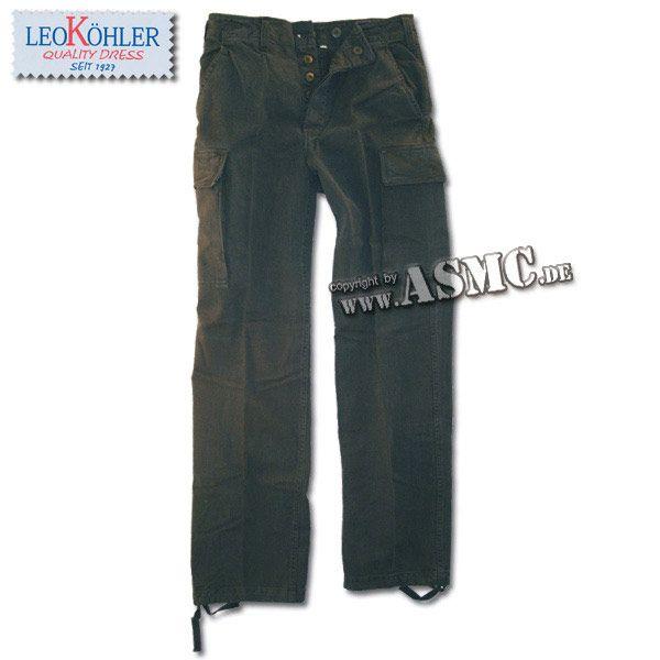 Moleskin Pants Prewashed black