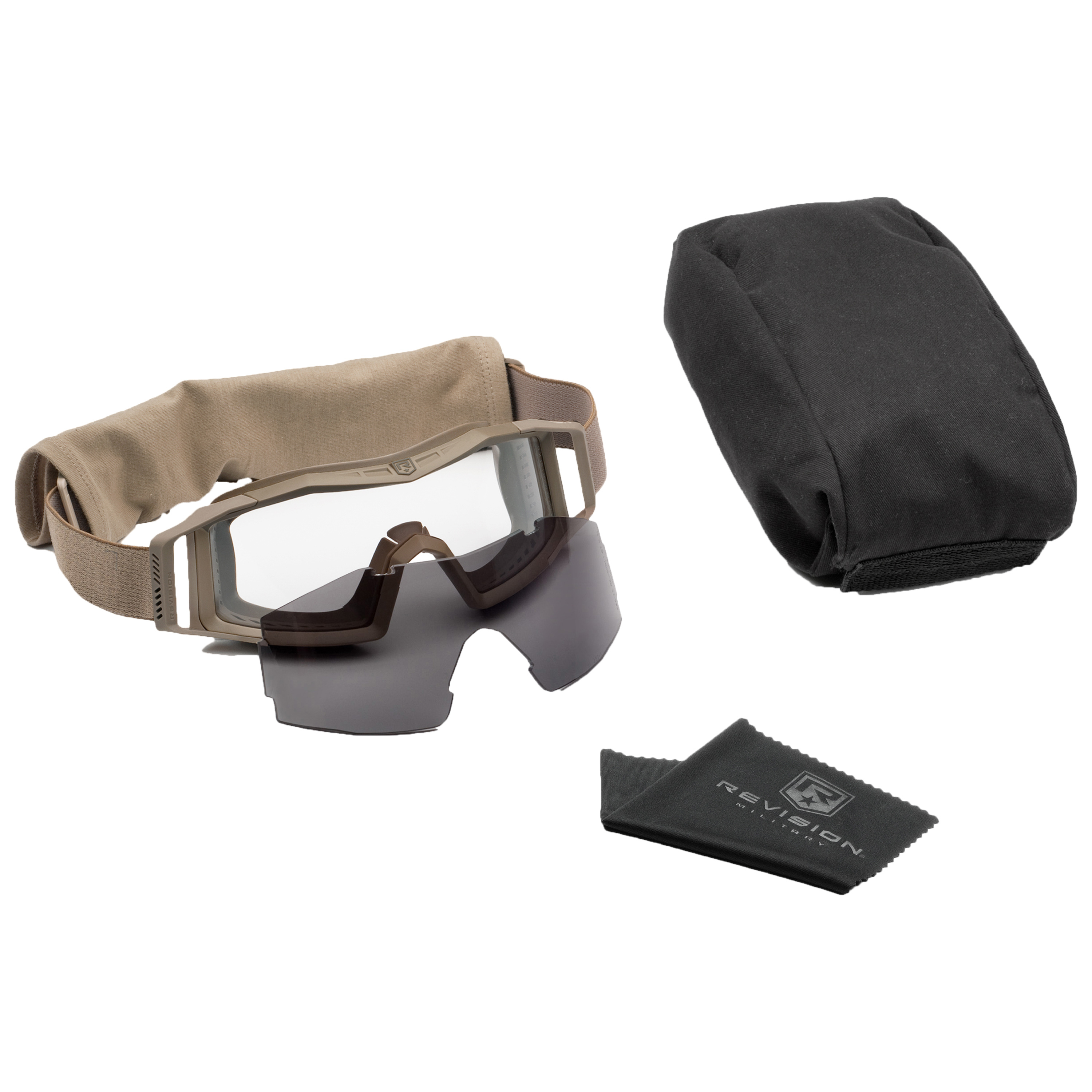 Revision Goggles Wolfspider Essential tan