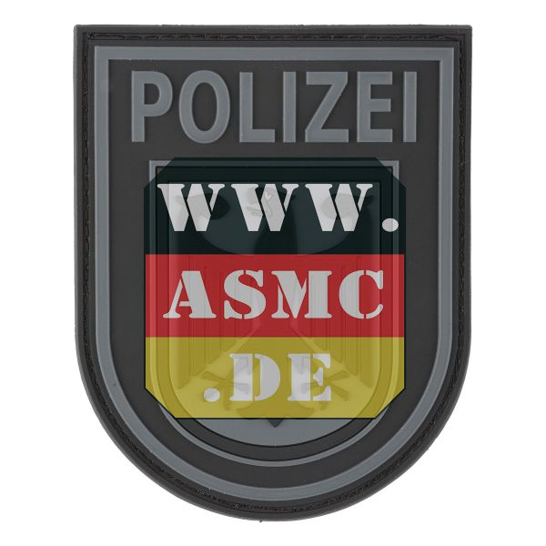 3D-Patch Bundespolizei black
