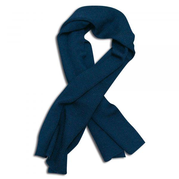 BW Wool Scarf Used navy blue