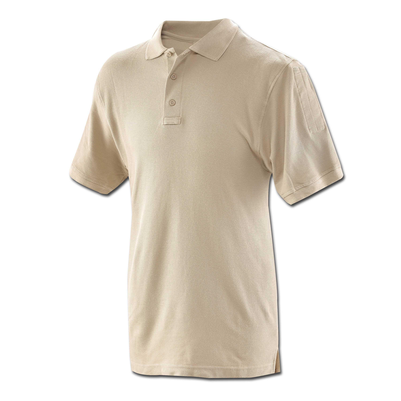 Polo Shirt Tru Spec shortsleeve tan