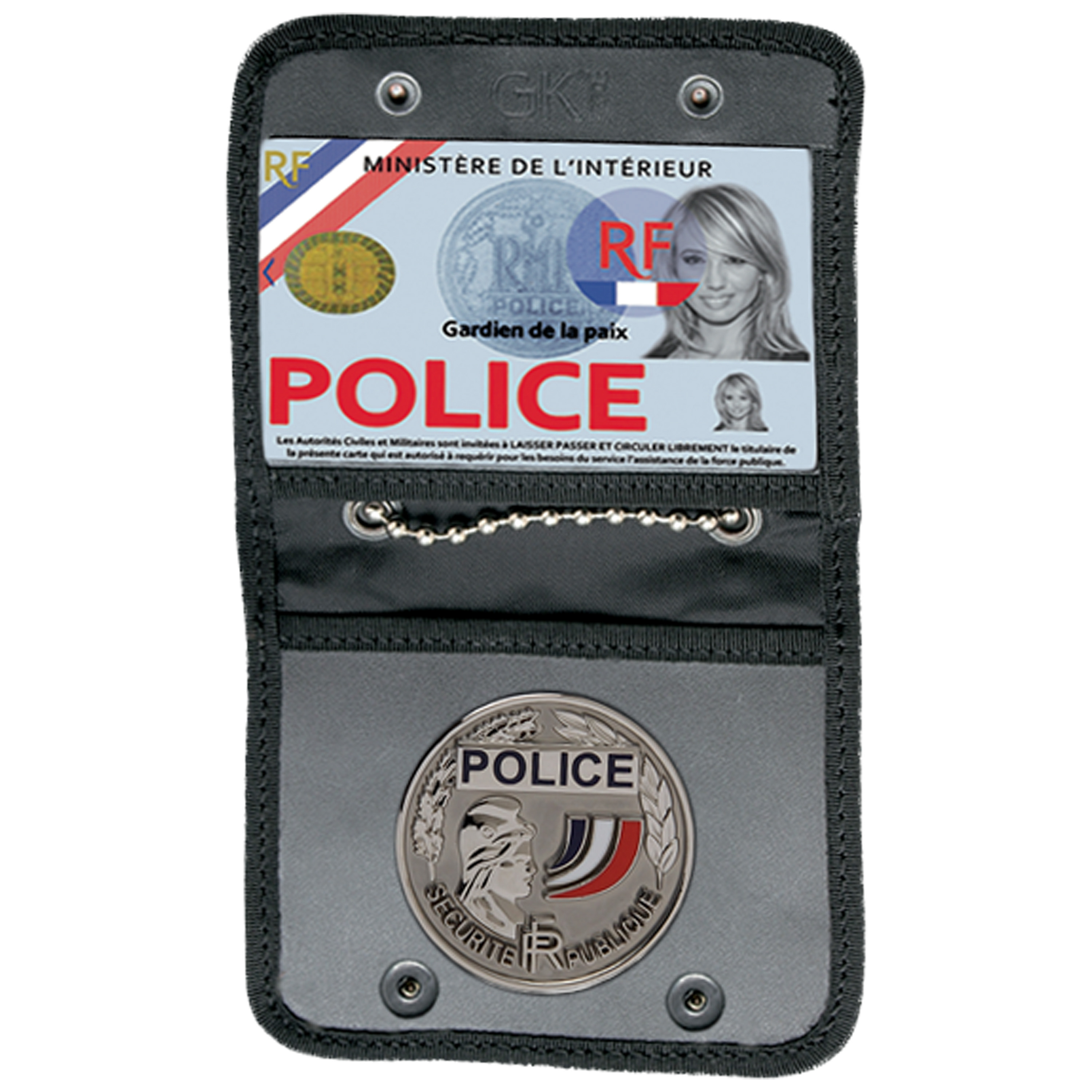 GK Pro ID Holder Armed Forces with Medal Attachment