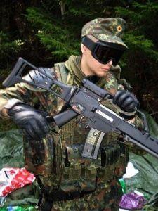 Combat vest MFH flecktarn