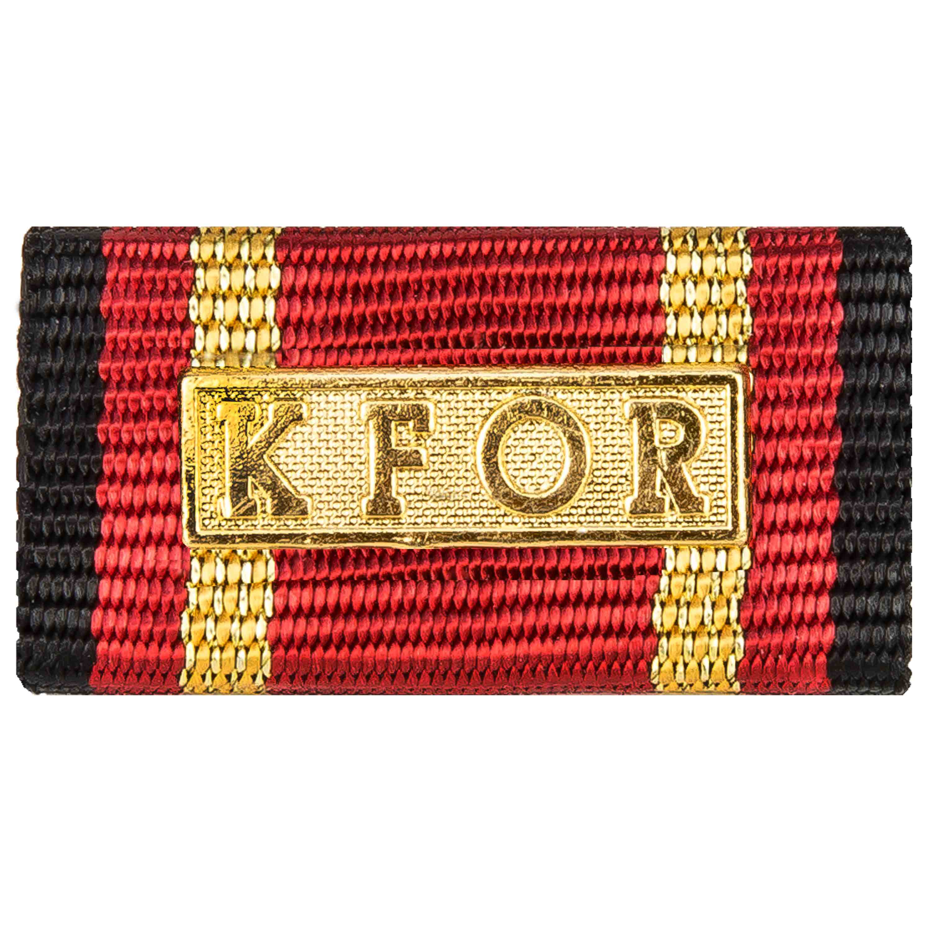 Service Ribbon Deployment Operation KFOR gold