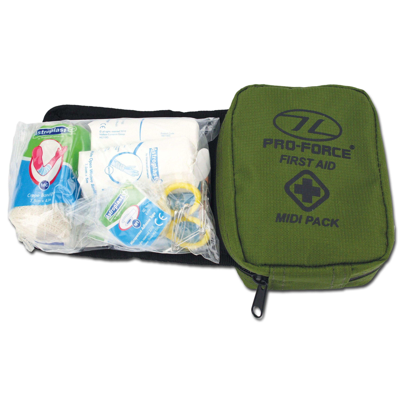 Highlander First Aid Kit Midi olive