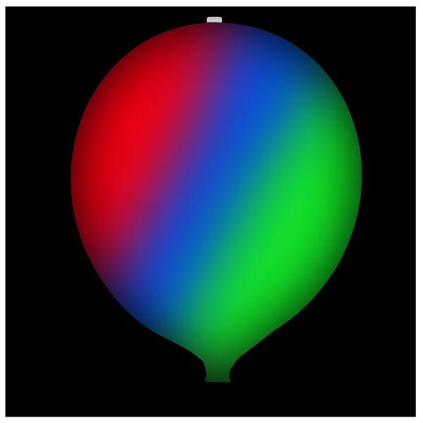 KNIXS Tac Balloon white Multicolor LED