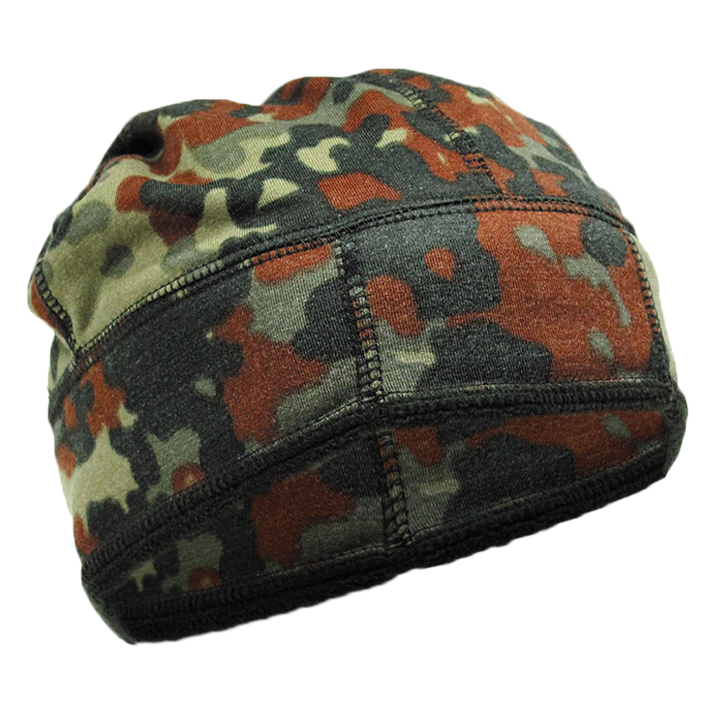 BW Fleece Hat flecktarn