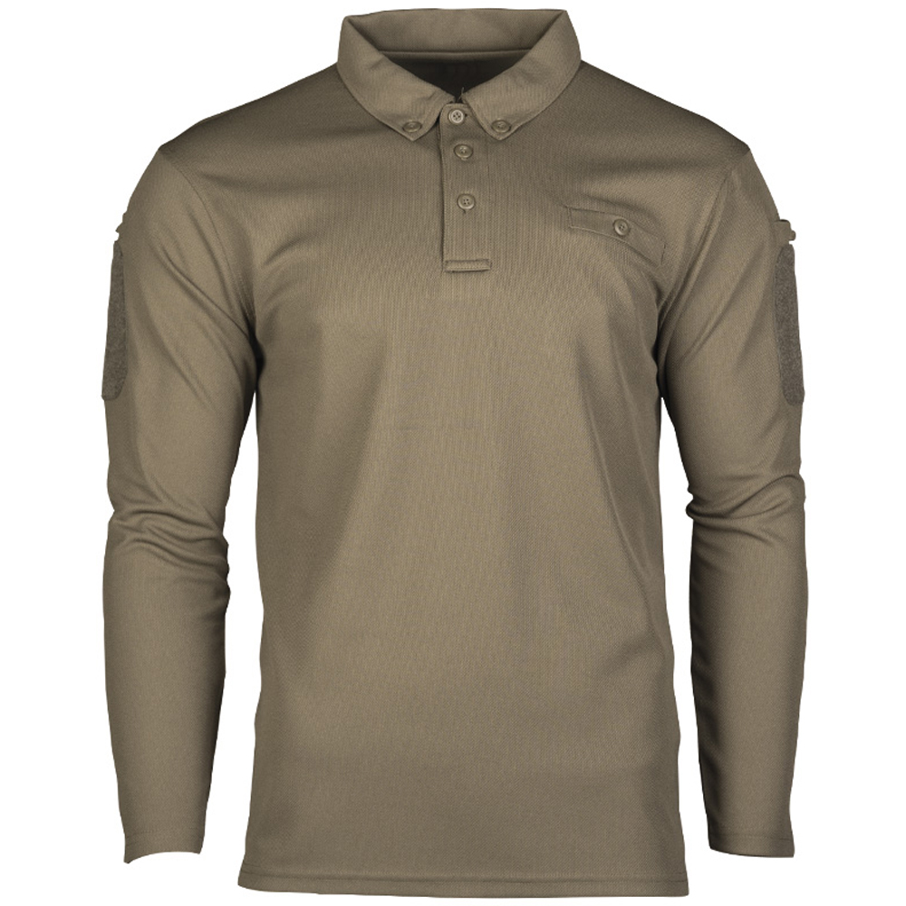 Mil-Tec Tactical Quick Dry Poloshirt olive