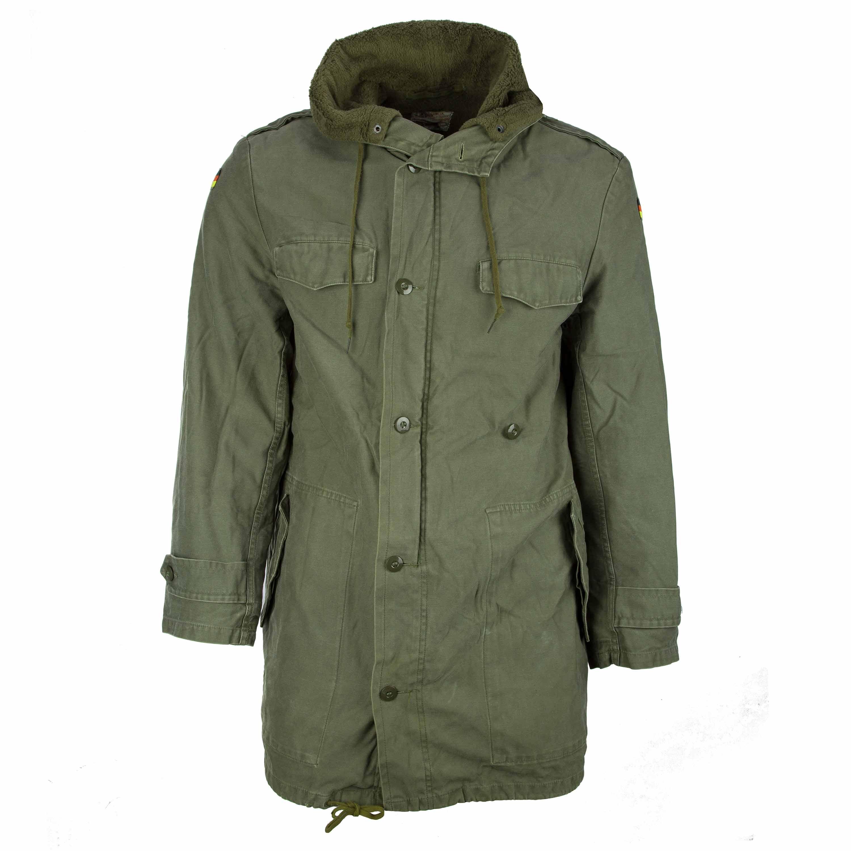 German Army Parka Military Jacket