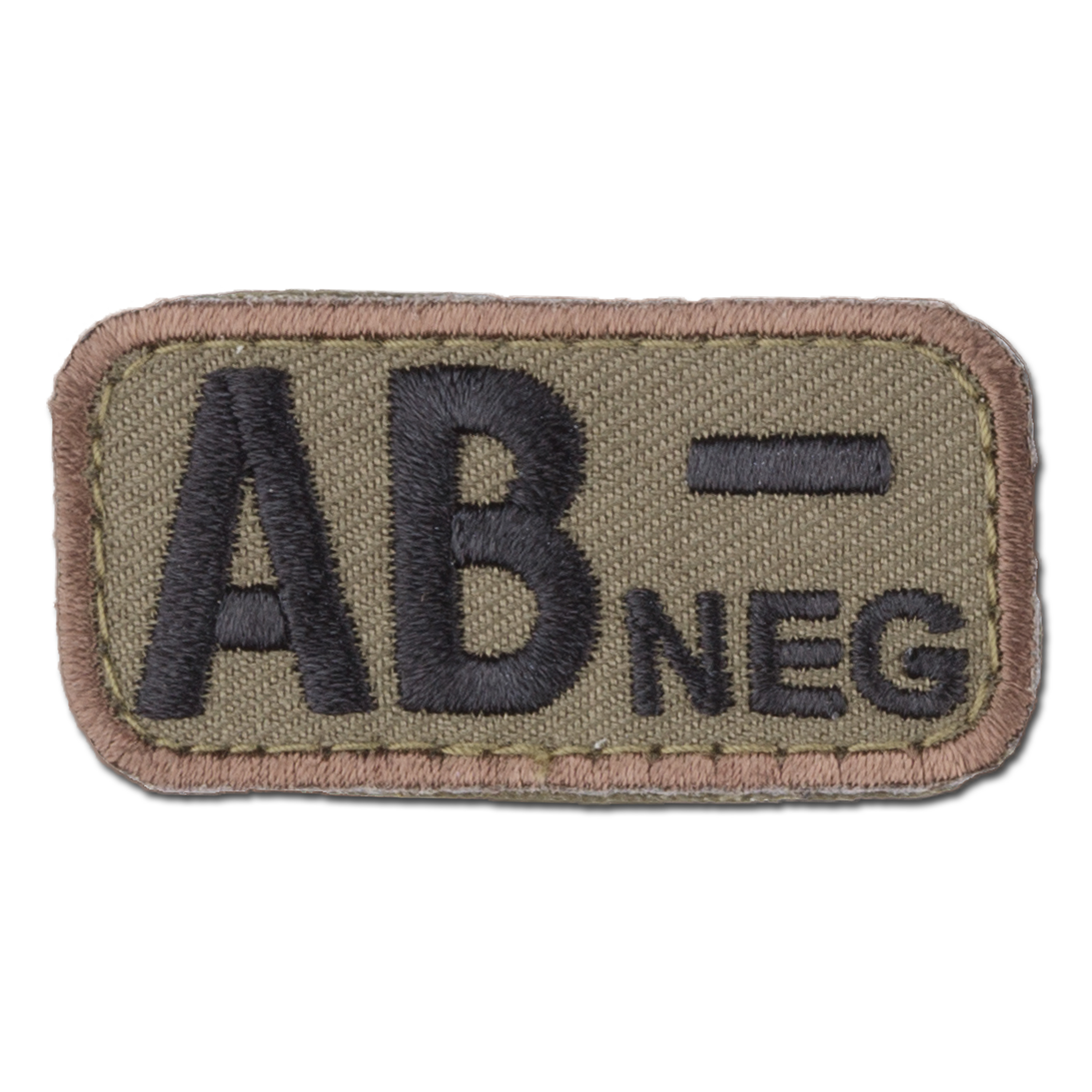 MilSpecMonkey Patch Blood Type AB Neg forest