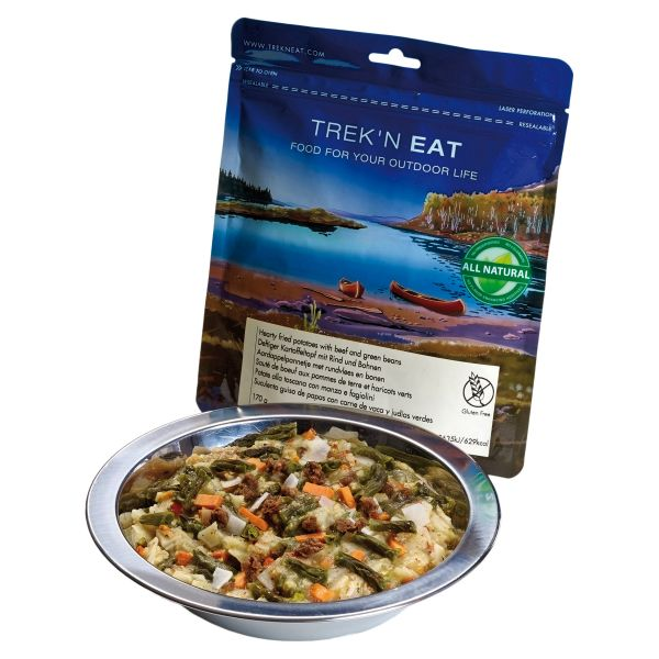 Trek'N Eat Hearty Potato Stew with Beef and Beans