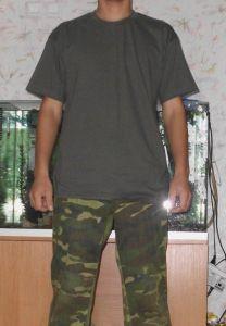 Green U.S Helikon-Tex Classic Army T-Shirt Comfort-Fit Outdoor Sport Freizeit