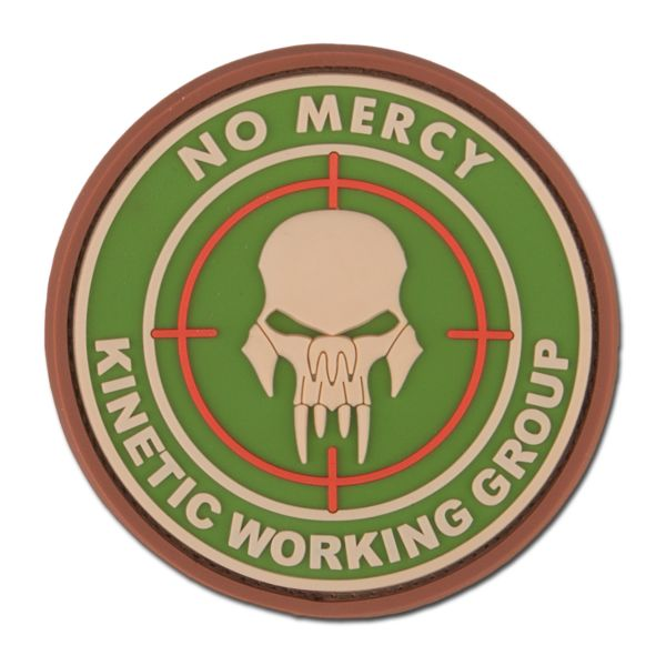 3D-Patch NO MERCY-KINETIC WORKING GROUP multicam