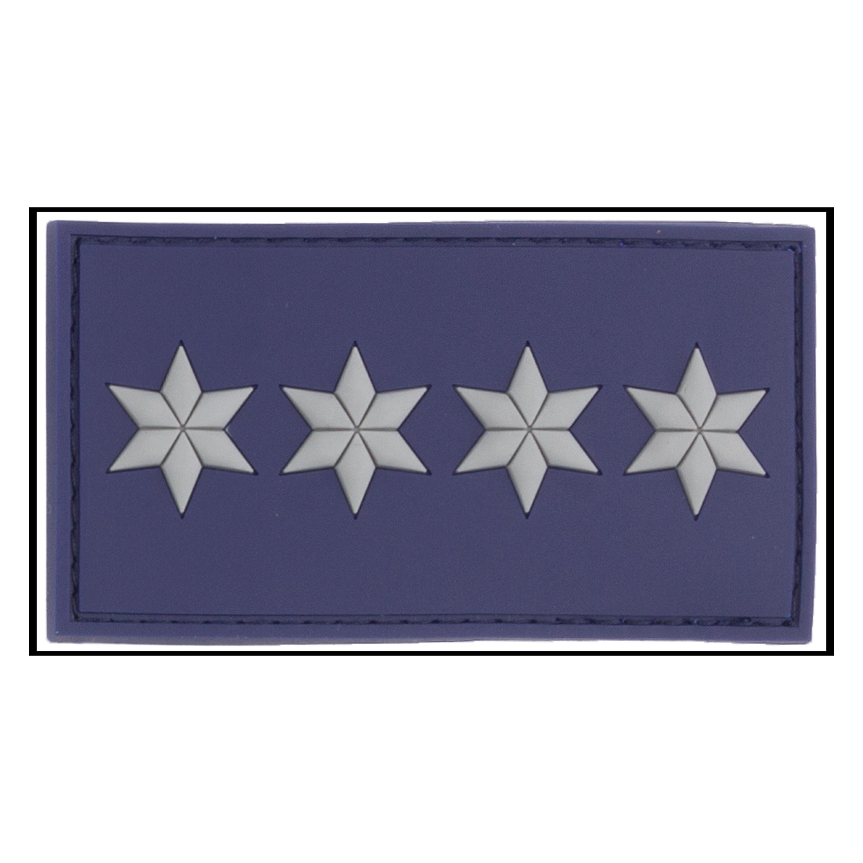 3D-Patch Rank Polizeihauptkommissar A12 polizei blue
