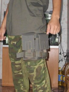 Tactical magazine pouch oliv