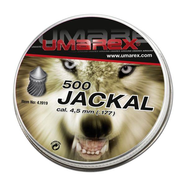 Umarex Pellets Jackal Pointed Head Special 4.5 mm 500 Pcs.
