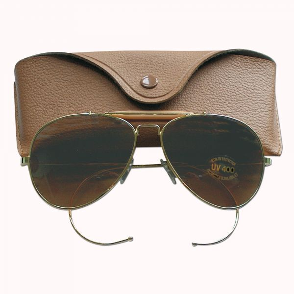 Sun Glasses Air Force Style brown