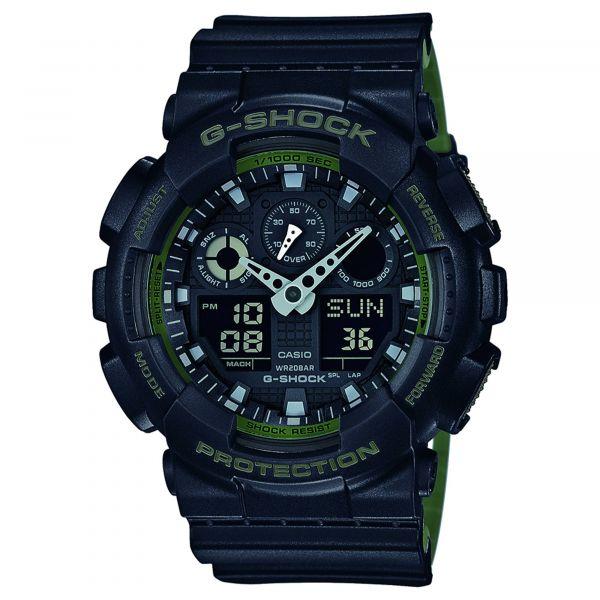 Casio Watch G-Shock Classic GA-100L-1AER black/olive