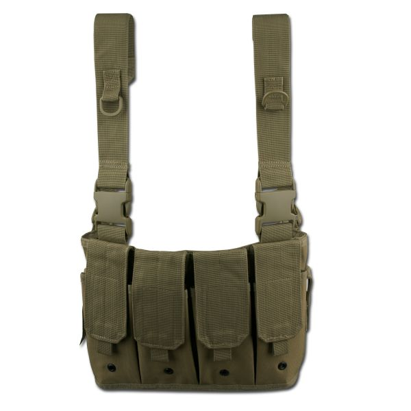 Mag Carrier Chest Rig olive green