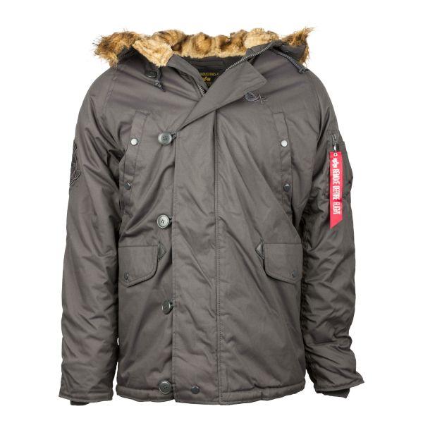 Alpha Industries Explorer Winter Jacket Replica gray