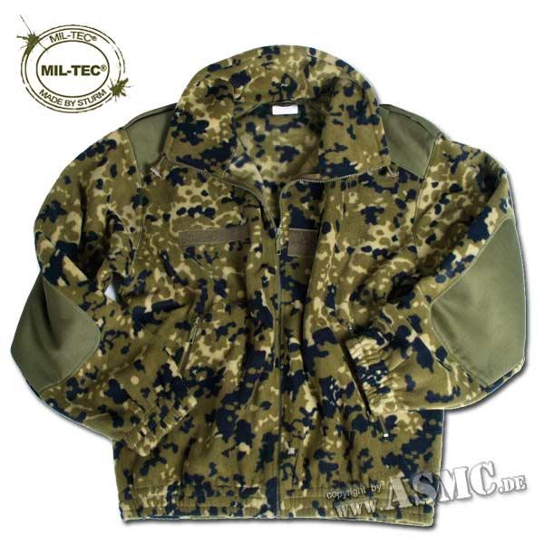 French Commando Fleece Jacket danish camo