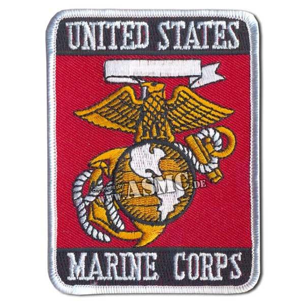 Insignia U.S. Marine Corps Rectangle