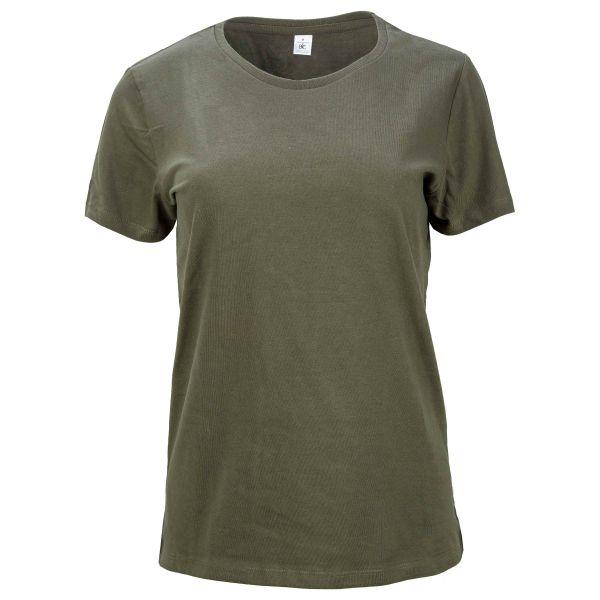 T-Shirt Ladies urban khaki