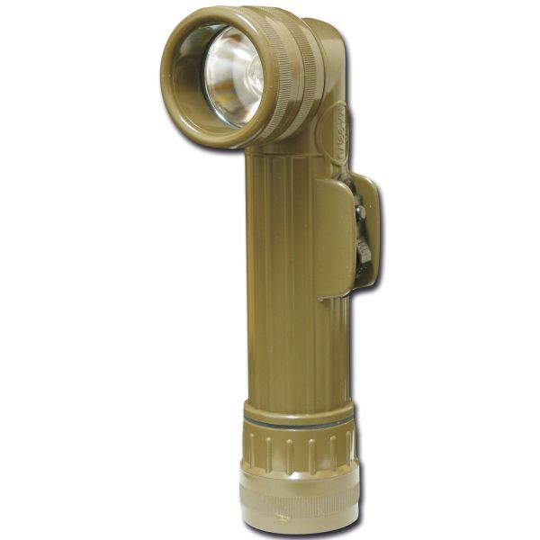 Original US Angle Head Flashlight olive