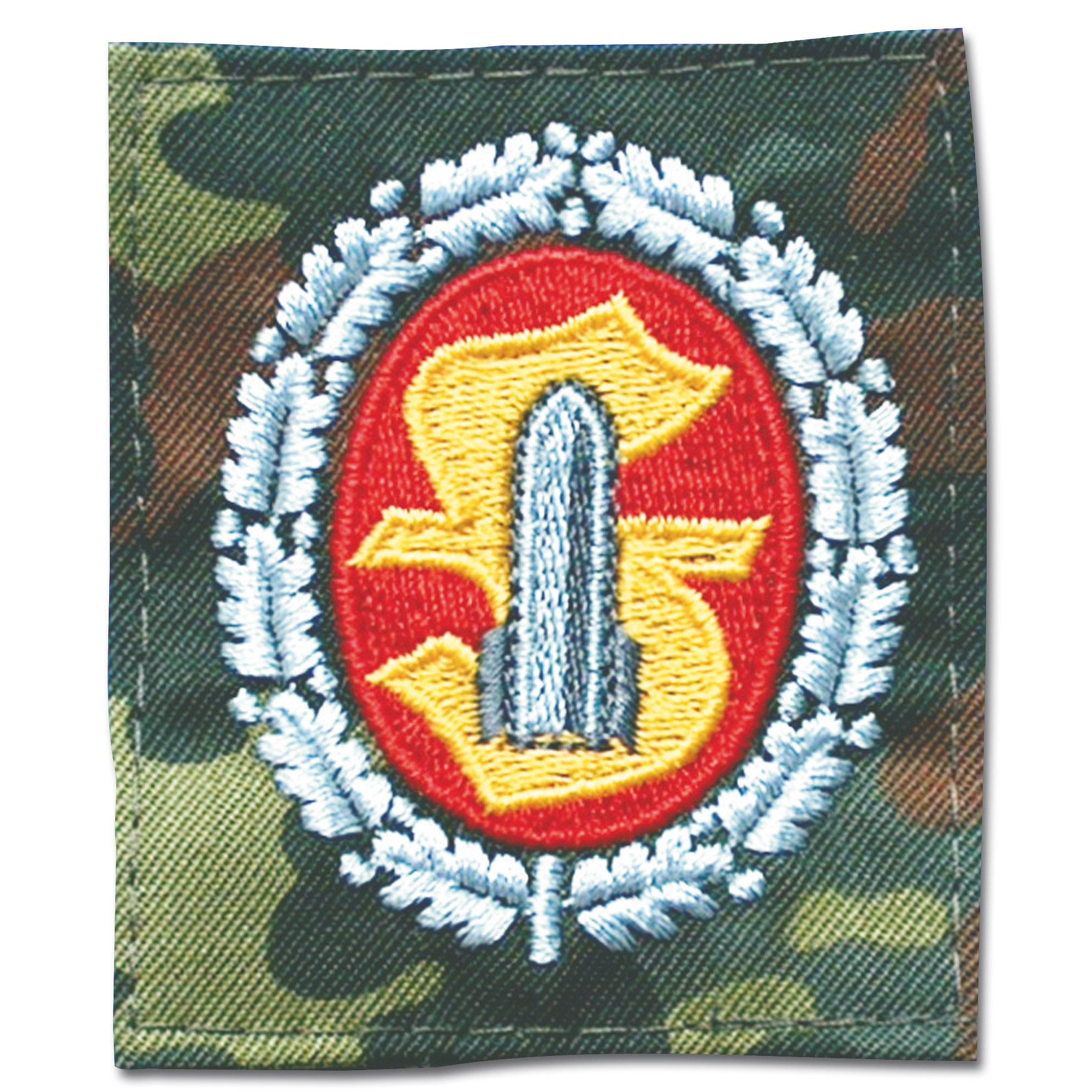 Insignia ammunition personal textile flecktarn/full color