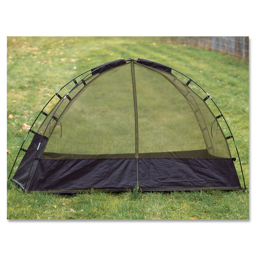 Mosquito Net Dome Tent with Poles Mil-Tec