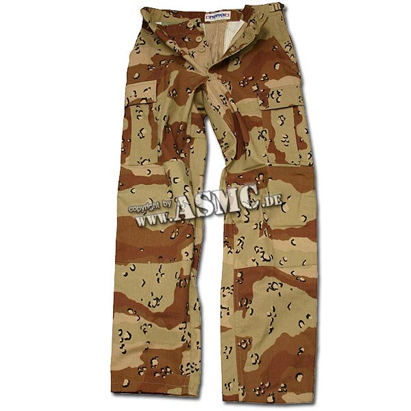 BDU Pants U.S. desert 6-colour NYCO