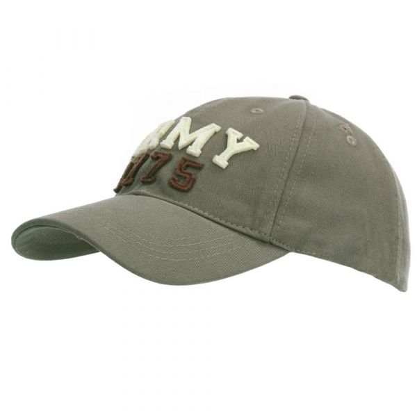 Fostex Garments Baseball Cap Stone Washed Army 1775 olive