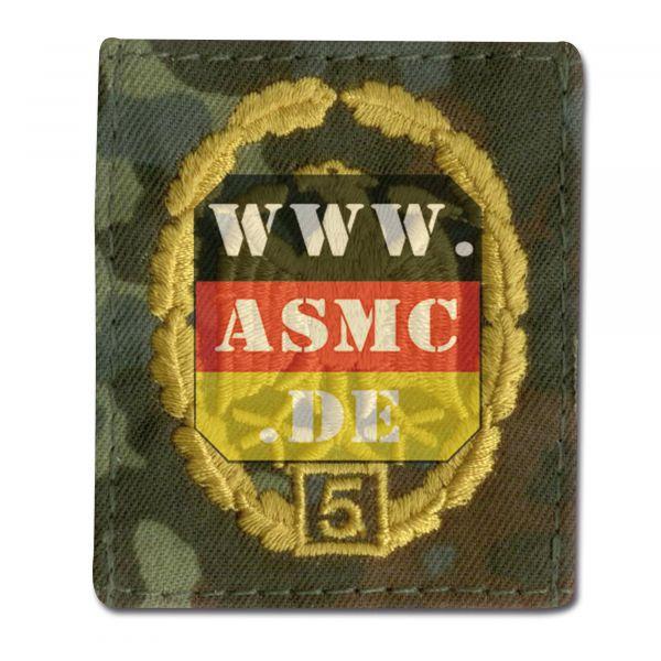 German Award for Military Proficiency flecktarn/gold
