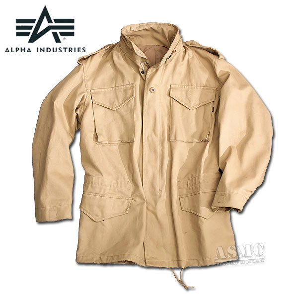Field Jacket M-65 Alpha Industries khaki