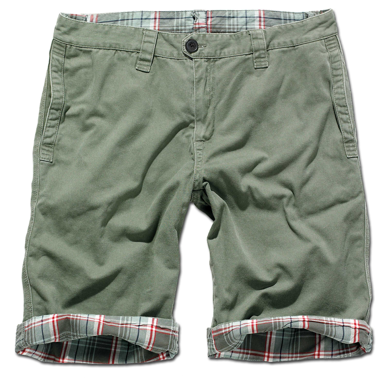 Brandit Shorts Raider 2 in 1 oliv