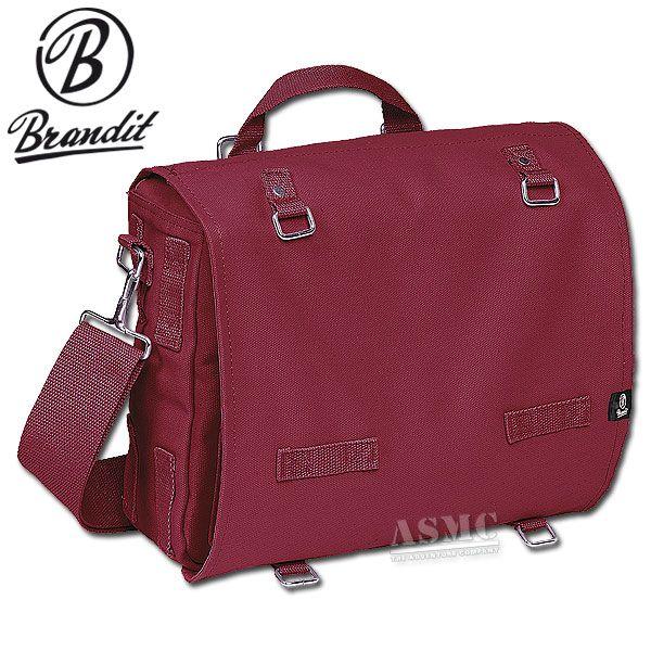 Shoulder Bag Large burgundy