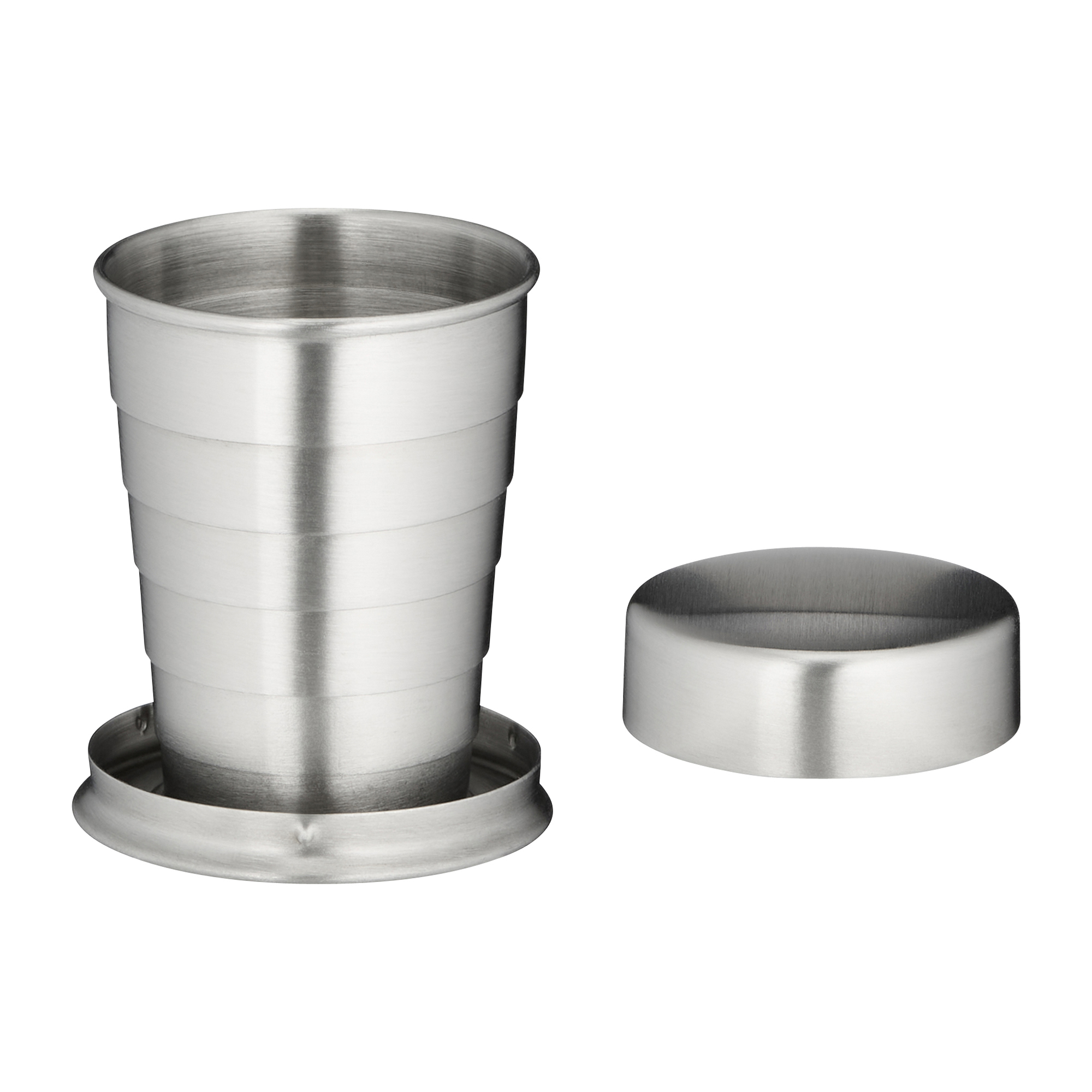 Stainless Steel Fold Cup 4 cl