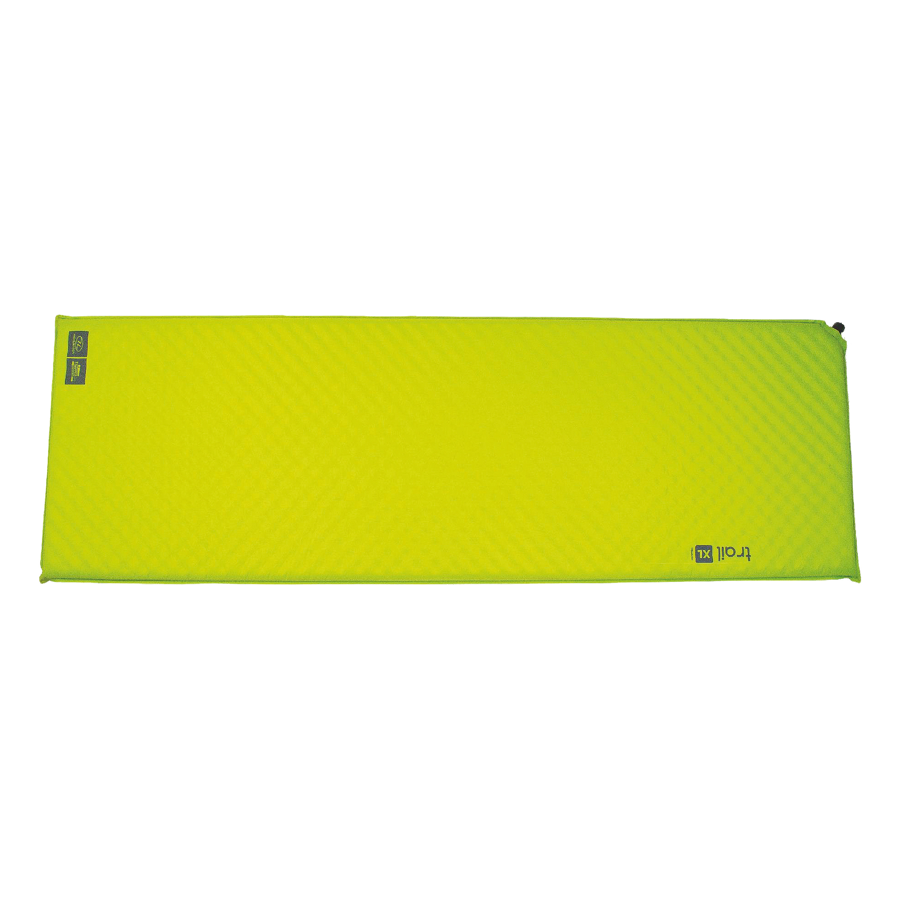 Highlander Self-Inflating Thermal Mat TRAIL XL green