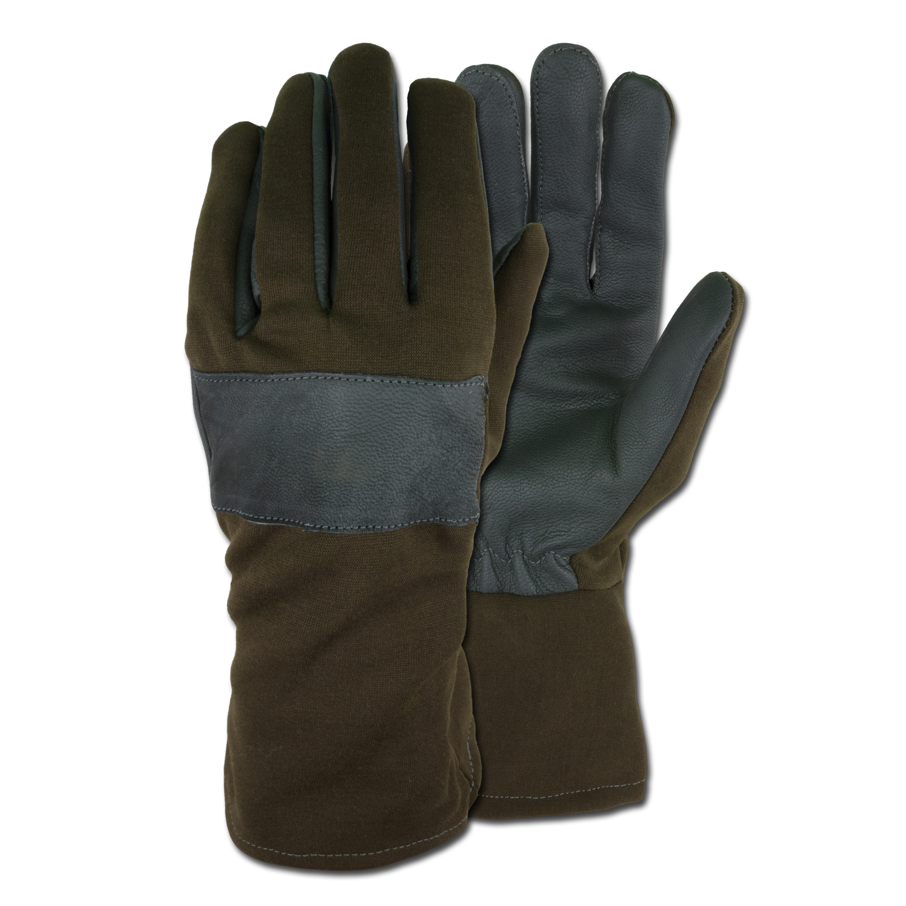 German Army Combat Gloves olive