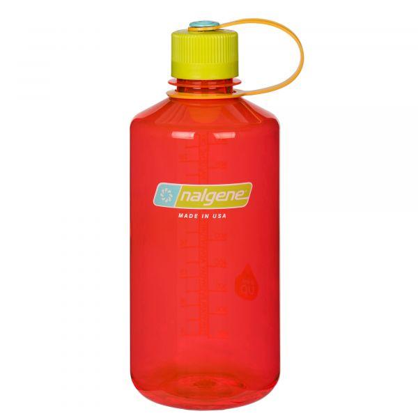 Nalgene Drink Bottle Narrow Neck pomegranate 1 L