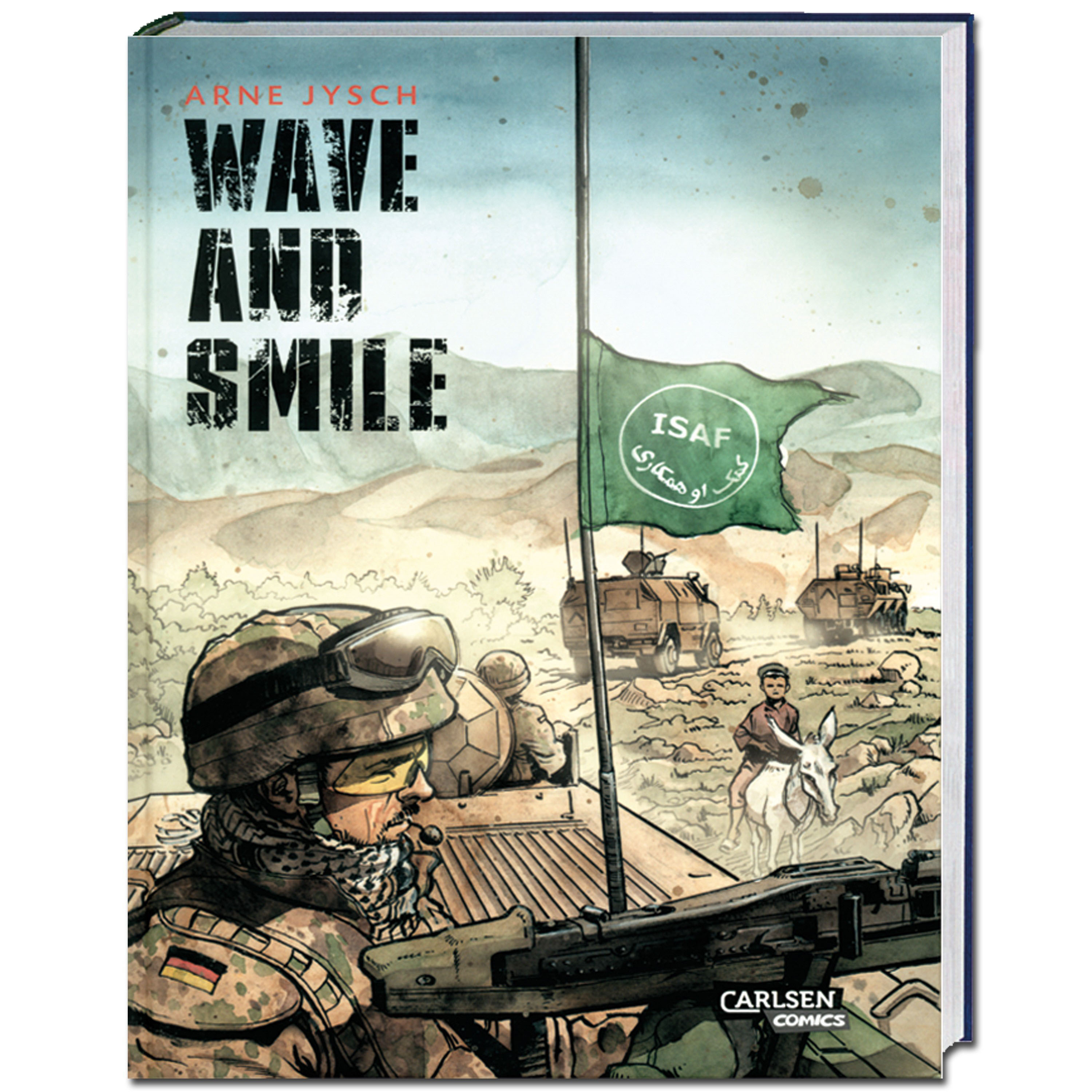 Book Wave and Smile