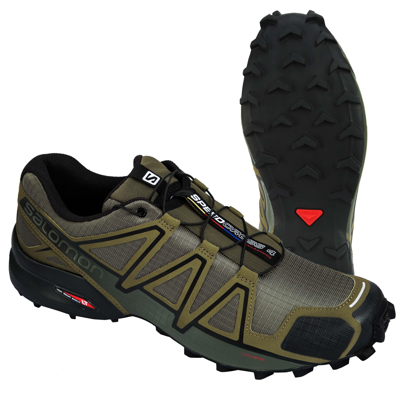Salomon Shoes Speedcross 4 olive/black