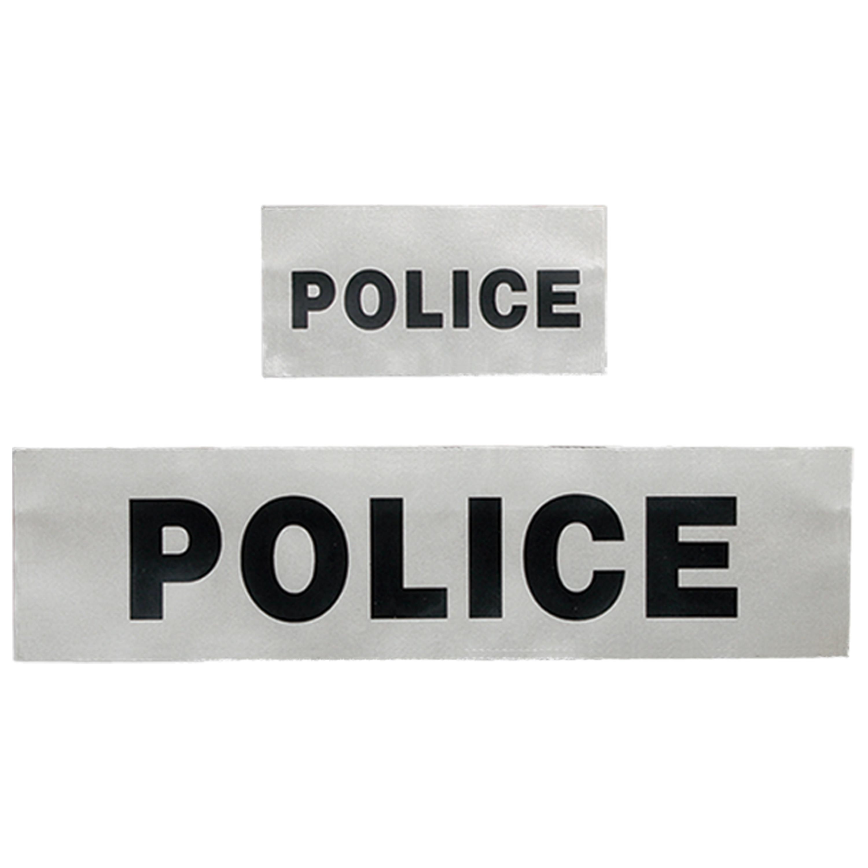 Police Reflective Patch Branch Tape Patch