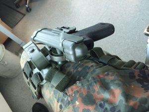 Blackhawk tiefziehholster P8