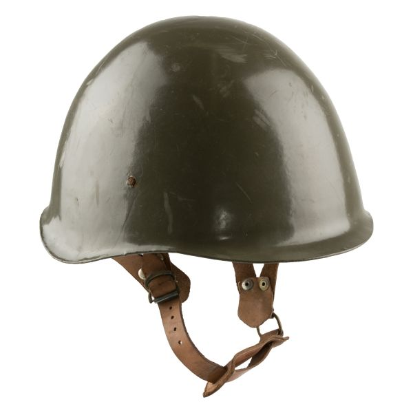 Hungarian Steel Helmet Used olive