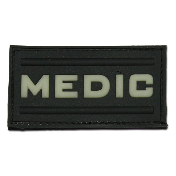 3D-Patch MEDIC black luminescent