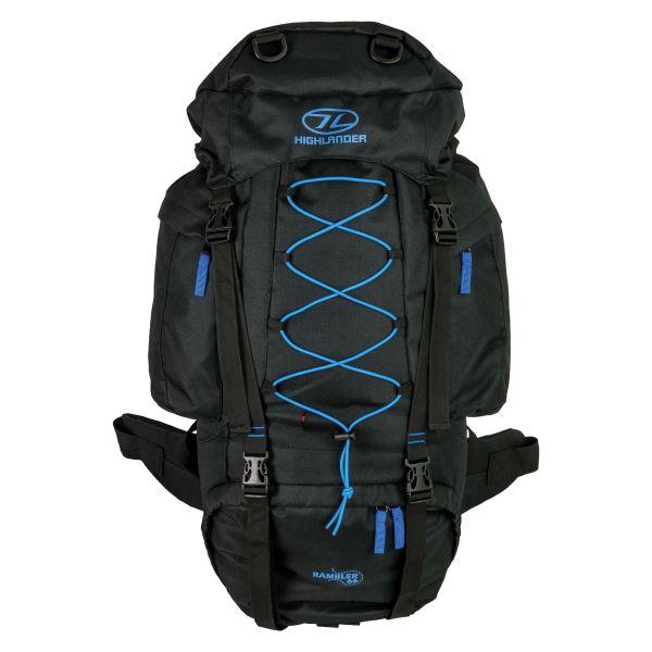 Highlander Backpack Rambler 66 black/blue