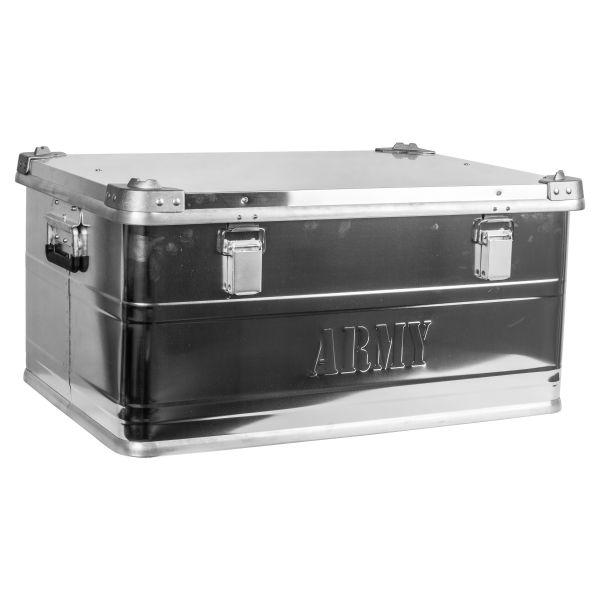 Transport Box with Carrying Handle Aluminum New Medium